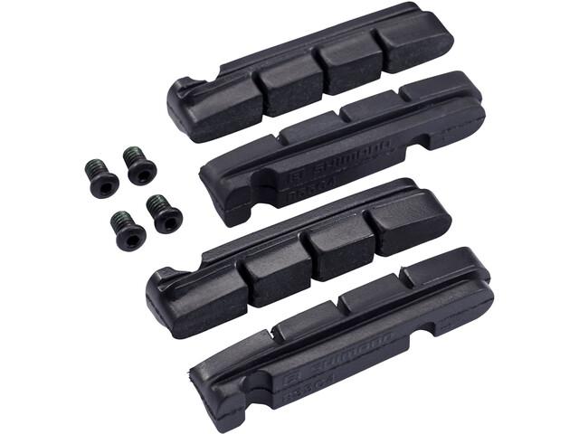 Shimano R55C4 Cartridge Remblokken voor Aluminium Velgen, black